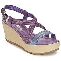 Zapatos Mujer Sandalias Samoa JEBEMA Violeta / Azul