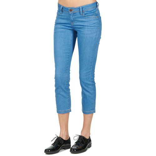 Mujer Part School Rag Court Cortos Comf Textil Pantalones AzulMedium hQsrtd