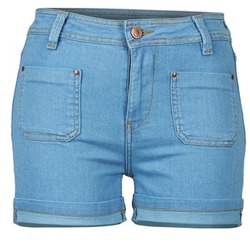 textil Mujer Shorts / Bermudas School Rag SUN Azul / Medium
