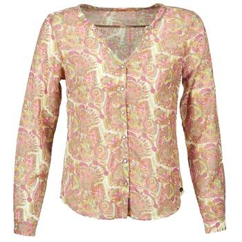 textil Mujer camisas DDP GARDENIA Rosa / Verde