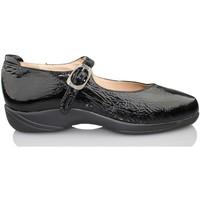 Zapatos Mujer Bailarinas-manoletinas Calzamedi  NEGRO