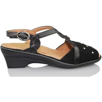 Zapatos Mujer Sandalias Calzamedi ORTOPEDICA NEGRO