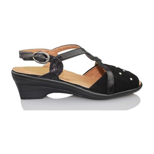 Zapatos Mujer Sandalias Calzamedi SANDALIA ORTOPEDICA MUJER NEGRO