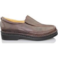 Zapatos Hombre Mocasín Calzamedi MOCASIN MARRON NEGRO