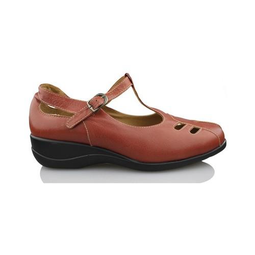 Zapatos Mujer Zapatos de tacón Calzamedi MERCEDITA MUJER MARRON