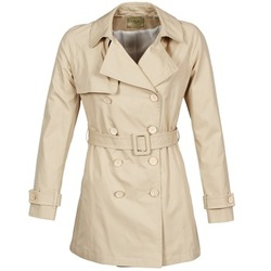 textil Mujer trench Lola MARDI Beige