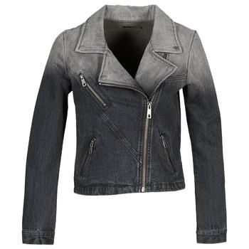 textil Mujer chaquetas denim Volcom DENIMES Negro