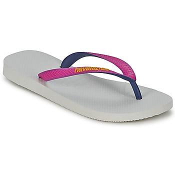 Zapatos Mujer Chanclas Havaianas TOP MIX Blanco / Rosa