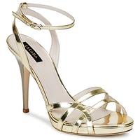 Zapatos Mujer Sandalias Escada AS683 Oro