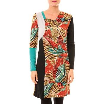 textil Mujer Vestidos cortos Bamboo's Fashion Robe Sauvage BW620 noir Negro