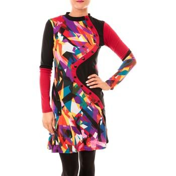 textil Mujer Vestidos cortos Bamboo's Fashion Robe Vintage/Prune BW617 multicolor Multicolor