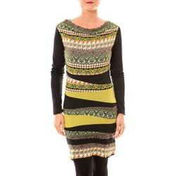 textil Mujer Vestidos cortos Bamboo's Fashion Robe BW671 vert Verde
