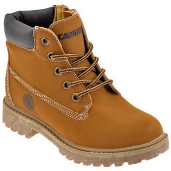 Zapatos Niño Botas de caña baja Canguro  Beige