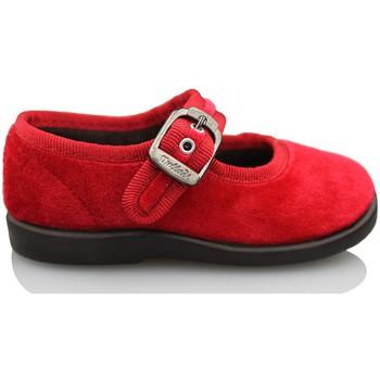 Zapatos Niña Bailarinas-manoletinas Vulladi TERCIOPELO ROJO