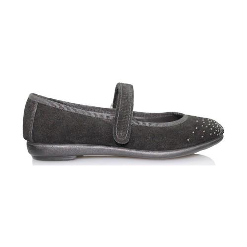 Zapatos Niña Bailarinas-manoletinas Vulladi SERRAJE CAN NEGRO
