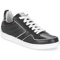 Zapatos Mujer Zapatillas bajas Kenzo K-FLY Negro / Plateado