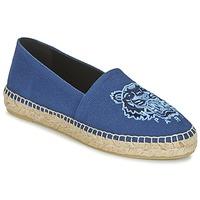Zapatos Mujer Alpargatas Kenzo TIGER HEAD Azul