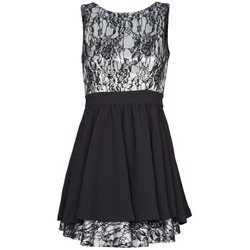 textil Mujer vestidos cortos Manoukian 612539 Negro
