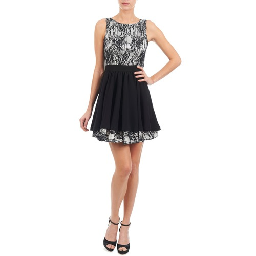 612539 Manoukian Textil Cortos Negro Mujer Vestidos rtdshQ
