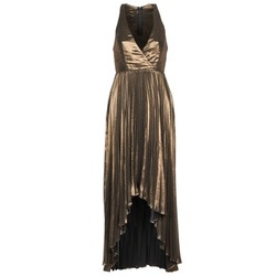 textil Mujer vestidos largos Manoukian 612556 Oro