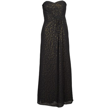 textil Mujer vestidos largos Manoukian 612930 Negro / Oro