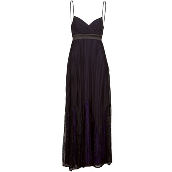 textil Mujer vestidos largos Manoukian 612933 Negro