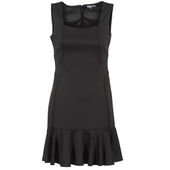 textil Mujer vestidos cortos Manoukian 612936 Negro