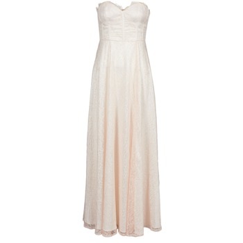 textil Mujer vestidos largos Manoukian 613346 Rosa / Beige