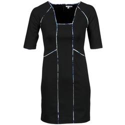 textil Mujer vestidos cortos Manoukian 613369 Negro