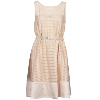 textil Mujer vestidos cortos Manoukian 613374 Beige