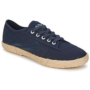 Zapatos Zapatillas bajas Feiyue FELO PLAIN Azul / Blanco
