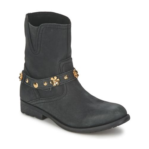 Zapatos Mujer Botas de caña baja Moschino Cheap & CHIC CA21013G1ZCE Negro