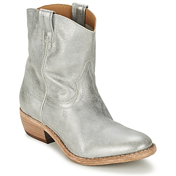 Zapatos Mujer Botas de caña baja Catarina Martins LIBERO Plateado
