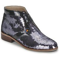 Zapatos Mujer Botas de caña baja C.Petula PEGASE Plateado