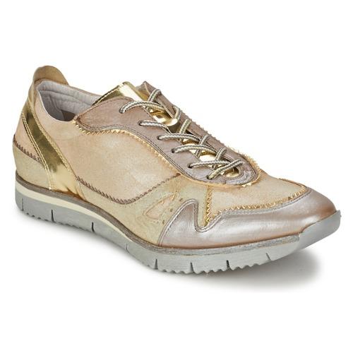 Zapatos Mujer Zapatillas bajas Manas  Oro