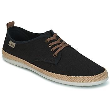 Zapatos Hombre Zapatillas bajas Bamba By Victoria BLUCHER LINO DETALLE SERRAJE Negro