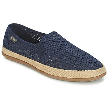 Zapatos Hombre Slip on Bamba By Victoria COPETE ELASTICO REJILLA TRENZA Marino