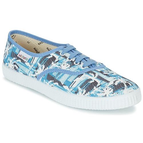 Zapatos Zapatillas bajas Victoria INGLES PALMERAS Azul