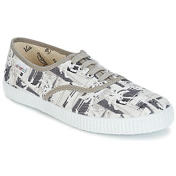 Zapatos Zapatillas bajas Victoria INGLES PALMERAS Beige