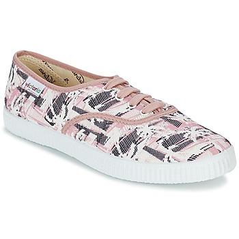 Zapatos Mujer Zapatillas bajas Victoria INGLES PALMERAS Rosa