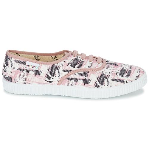 Zapatillas Zapatos Mujer Rosa Bajas Victoria Ingles Palmeras SqUzMVp