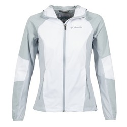 textil Mujer cazadoras Columbia SWEET AS SOFTSHELL Blanco / Gris