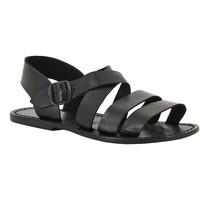 Zapatos Mujer Sandalias Gianluca - L'artigiano Del Cuoio 508 U NERO CUOIO nero