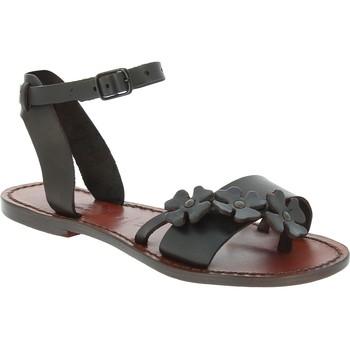 Zapatos Hombre Sandalias Gianluca - L'artigiano Del Cuoio 593 D MORO CUOIO Testa di Moro