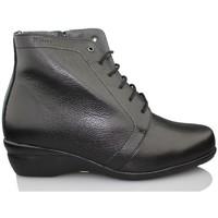 Zapatos Mujer Botines Dtorres BOTIN OTTAWA B1 CORDONES NEGRO