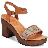 Zapatos Mujer Sandalias Bunker LUCY Marrón / Topotea