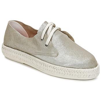 Zapatos Mujer Alpargatas Bunker IBIZA Plateado