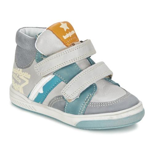 Zapatos Niño Zapatillas altas Babybotte APPOLON Gris
