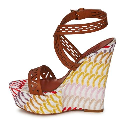 Sandalias Missoni Xm015 Mujer Zapatos MarrónMulticolor CxrBWoed