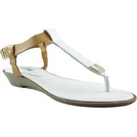 Zapatos Mujer Sandalias MTNG MUSTANG VACHE CUÑA BLANCO